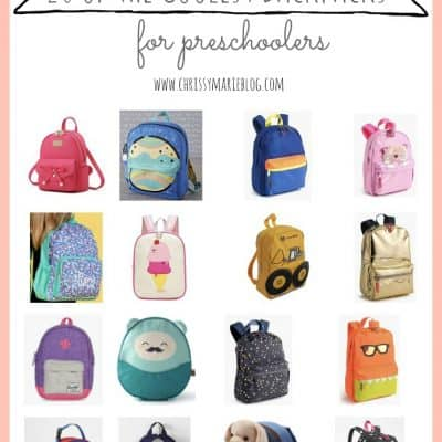 The Coolest Backpacks For Preschoolers