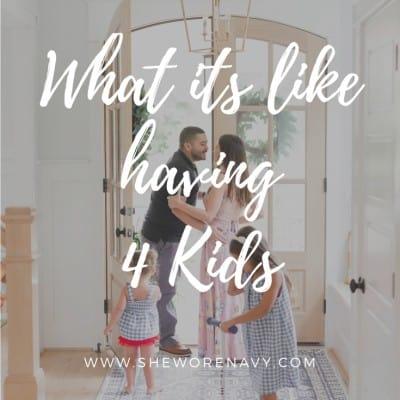 What's It Like Having 4 Kids?