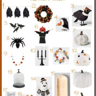 My Favorite Halloween Decor From Target Right Now