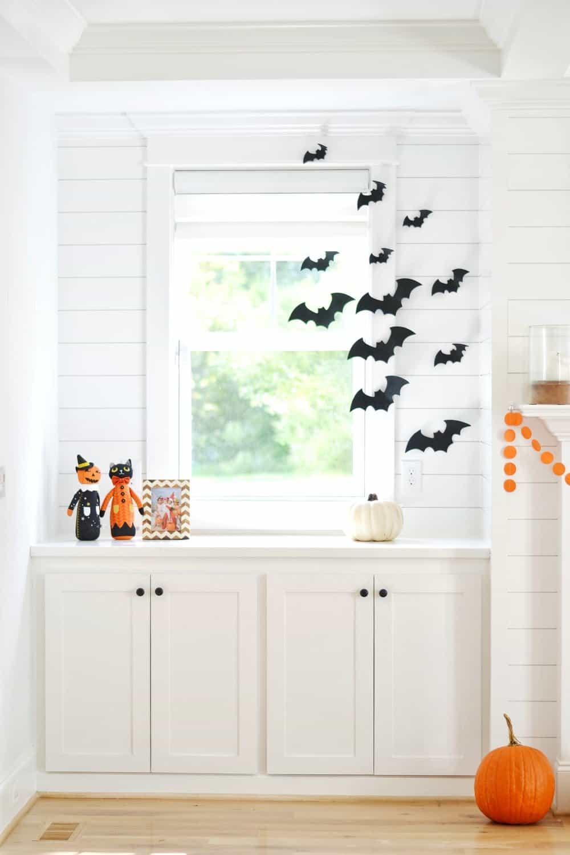 DIY felt bats