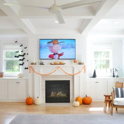 A Fall + Halloween House Tour: Decorate Affordably!