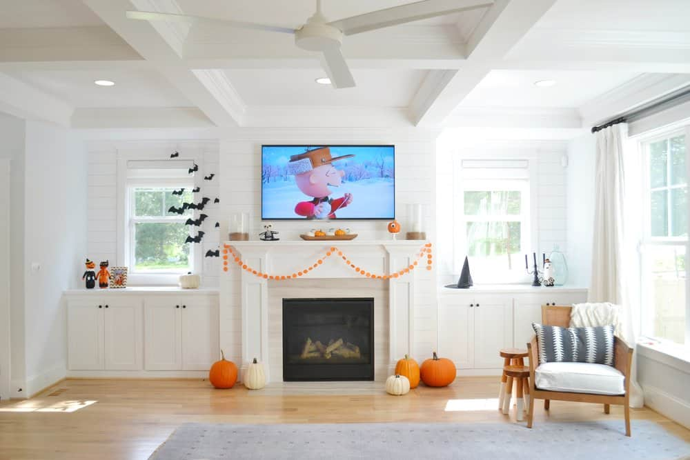 A Fall Halloween House Tour Decorate Affordably