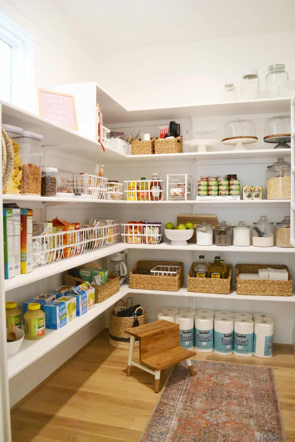 Our Organized Walk In Pantry Kitchen Drawers Chrissy Marie Blog