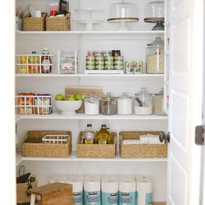 Our Organized Walk In Pantry + Kitchen Drawers