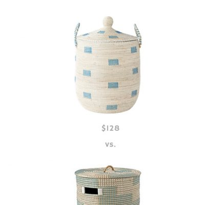 The Look For Less: La Jolla Baskets Dupe