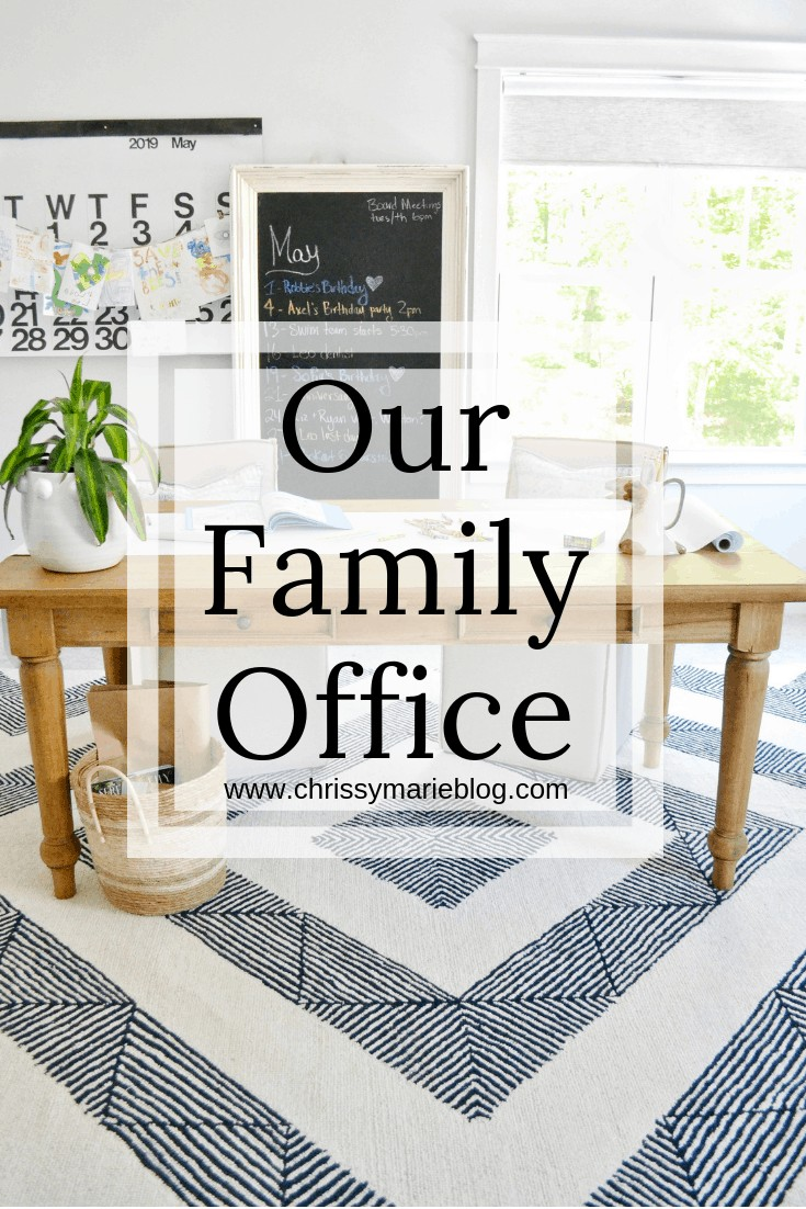 Pinterest image with text that says family office with Steven shell living