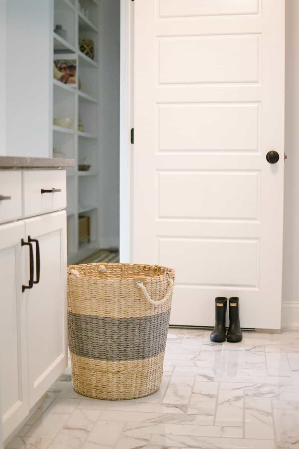 laundry hamper from home centric in laundry room
