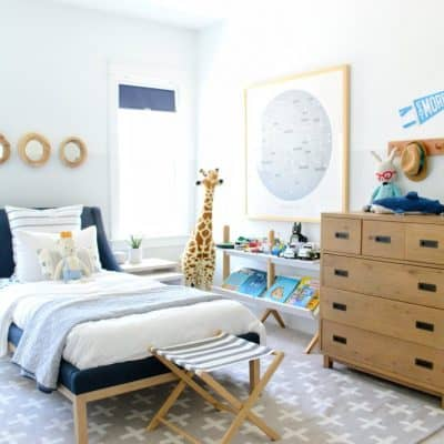 A Kid's Coastal Bedroom