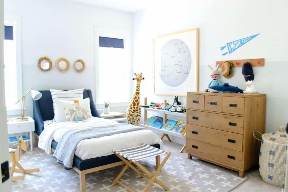 A Kid's Coastal Bedroom