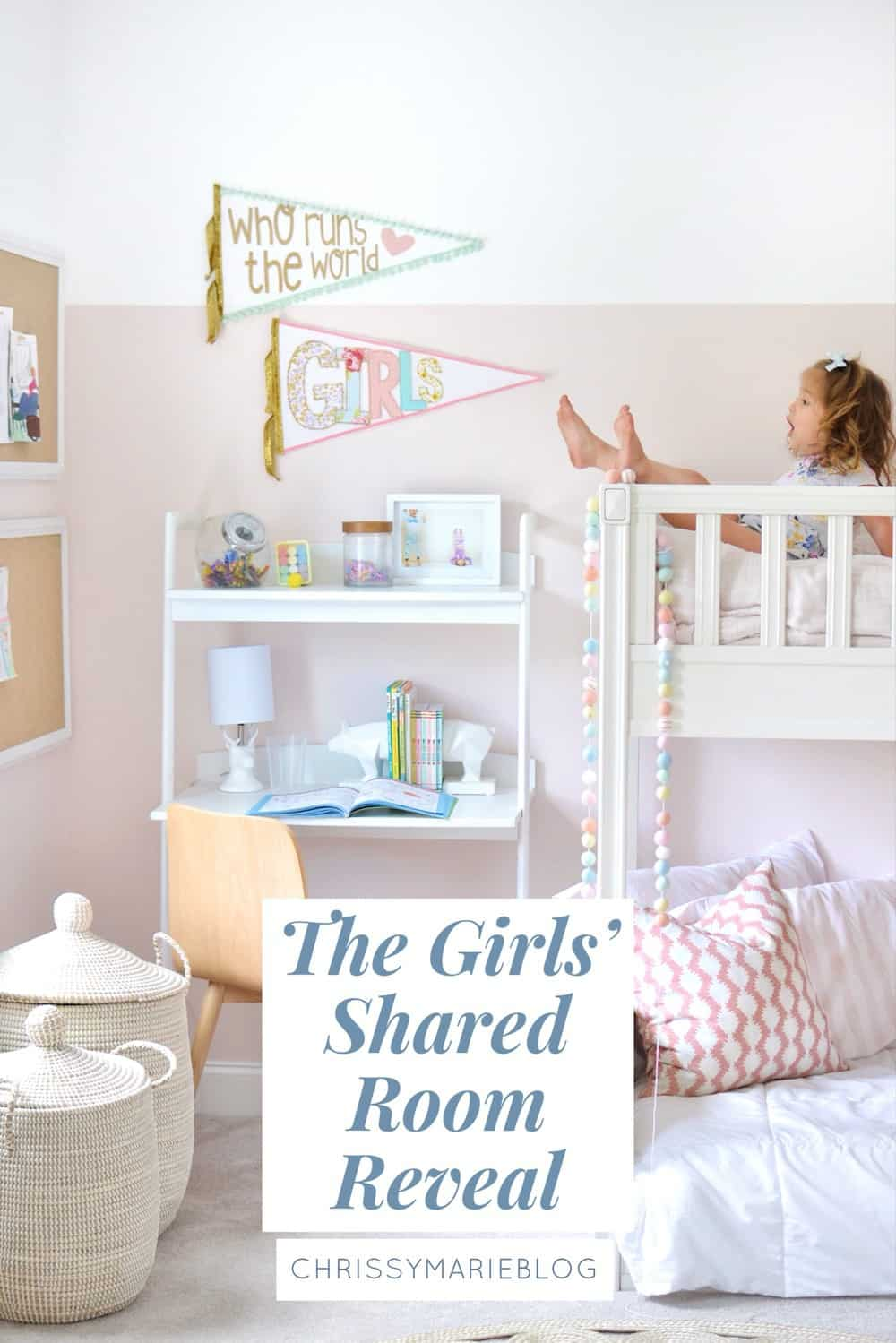 Pinterest for the girls shared bedroom with bunk beds