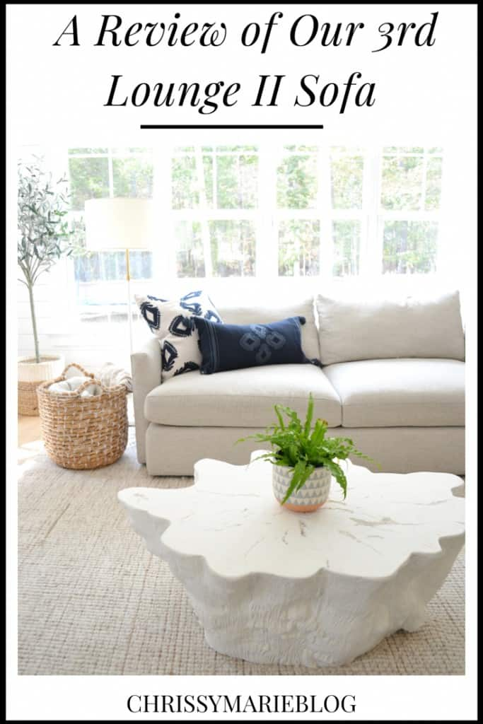 Crate and Barrel Lounge II Sofa Reviews - Chrissy Marie Blog