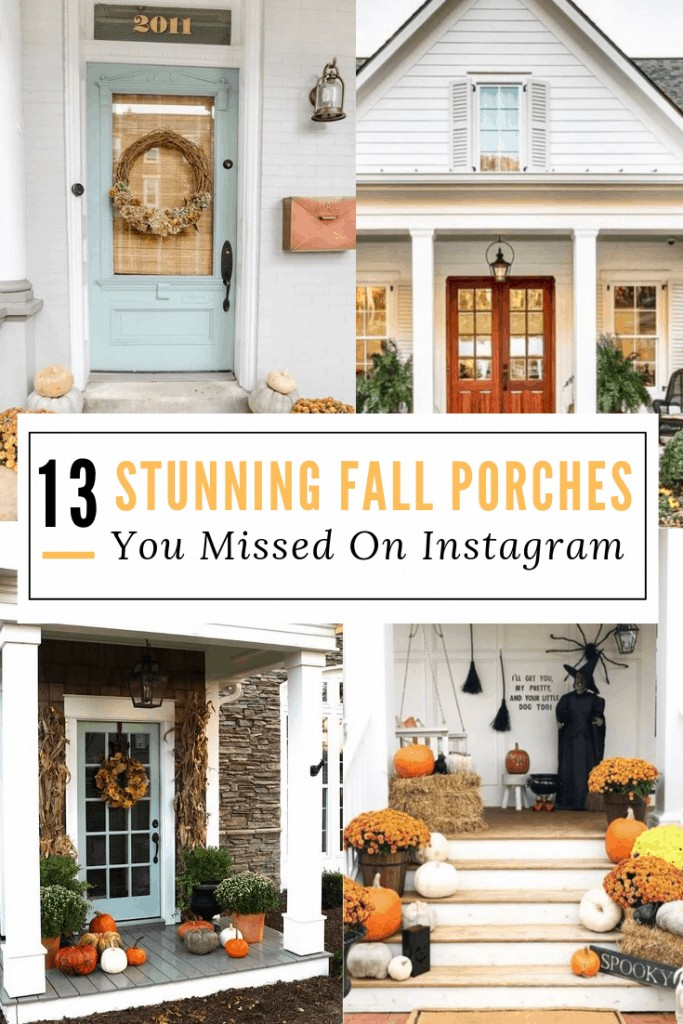 """pinterest image for """"13 sunning fall porches you missed on instagram"""""""