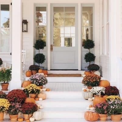 13 Stunning Fall Porches On Instagram You Missed