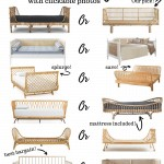 13 rattan daybeds on a Pinterest image