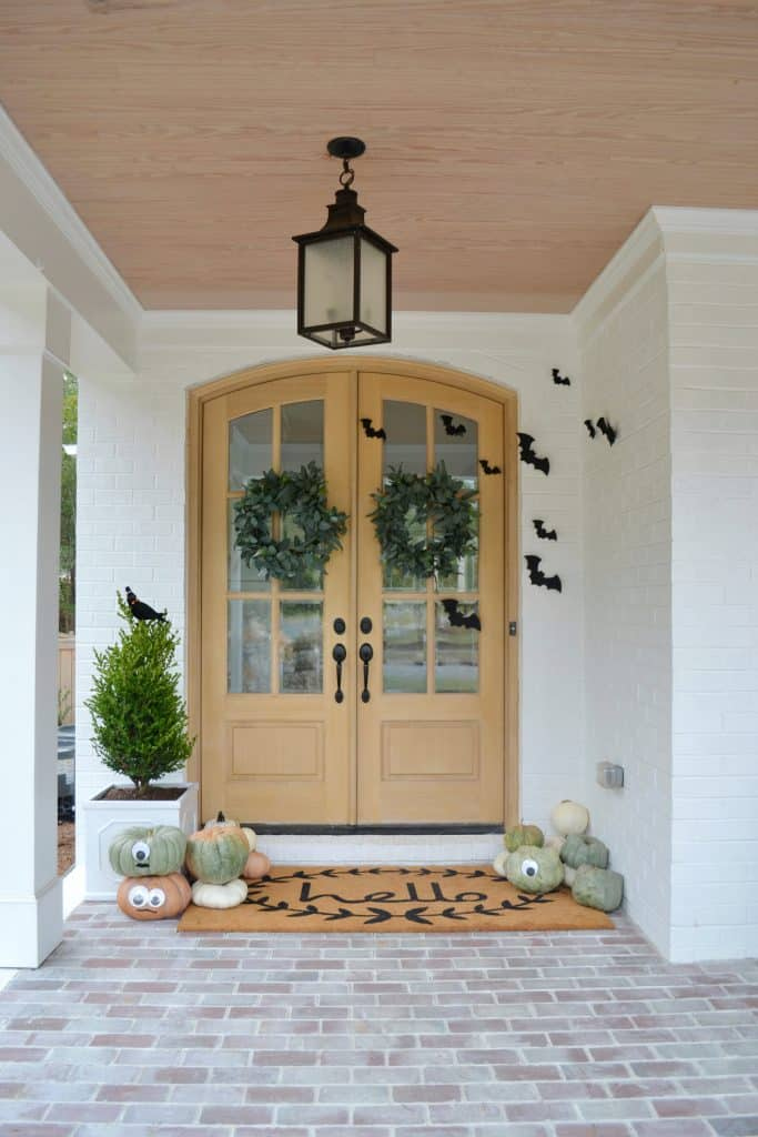 front porch with halloween design ideas