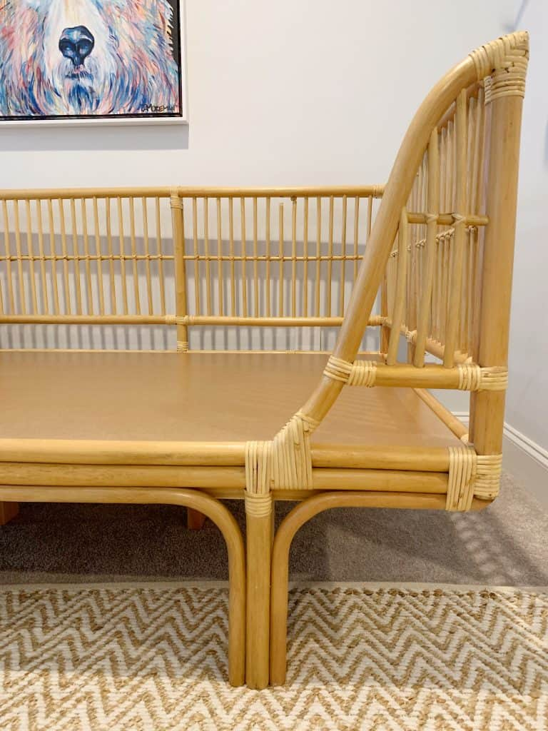 honey rattan daybed from world market
