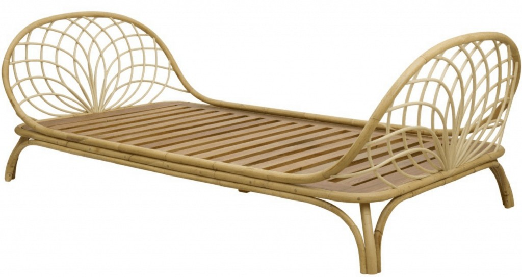 rattan daybed called the Fern Daybed