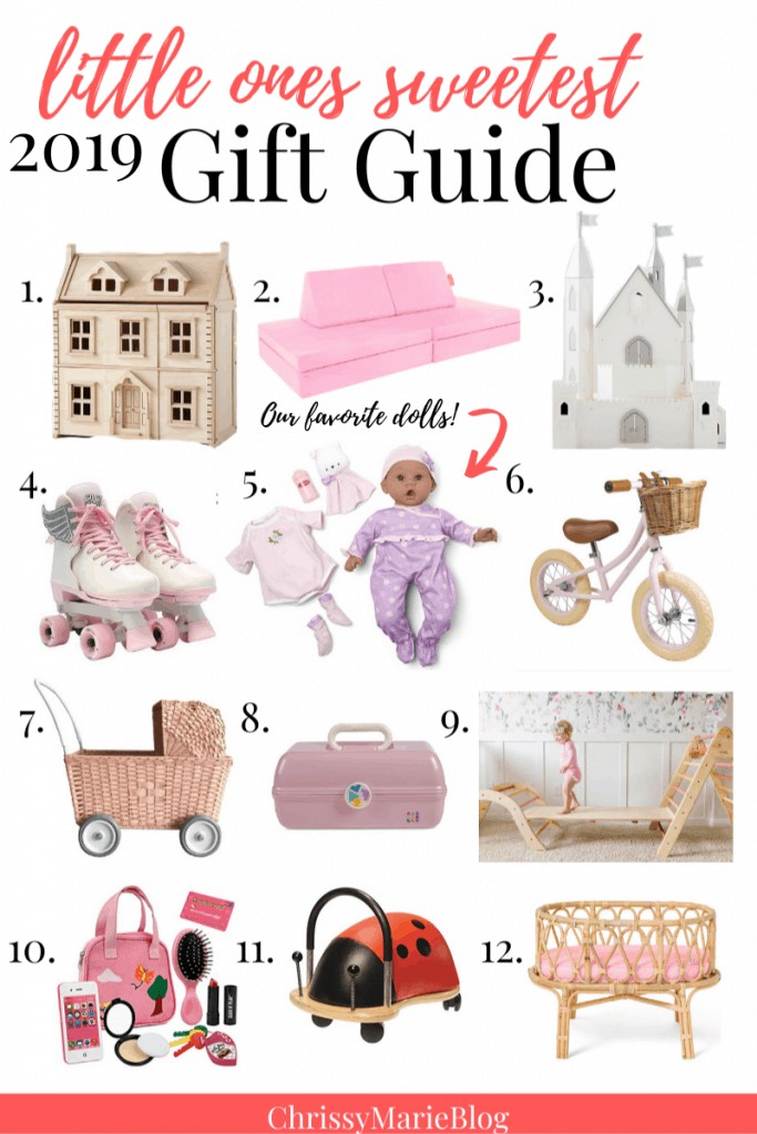 Pinterest Image with text that reads Kids Christmas Gifts in 2019