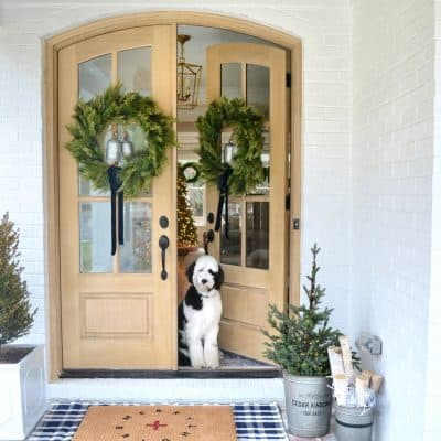 4 Tricks to a Festive Front Porch