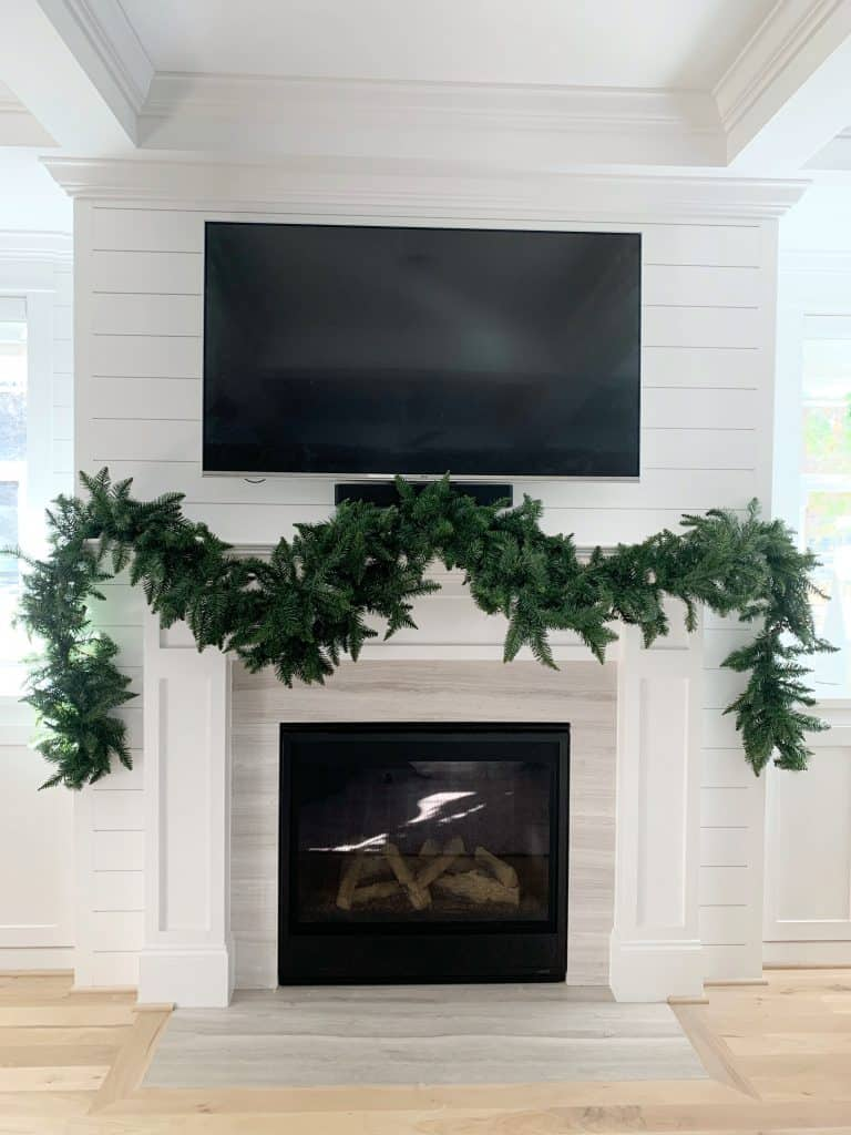 Christmas Garland for fireplace