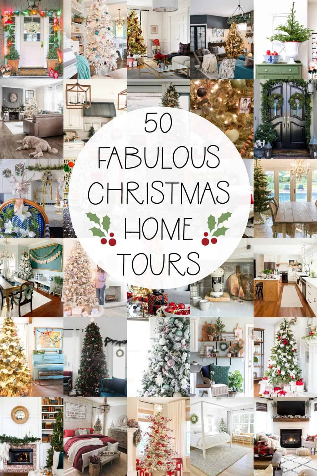 a list of christmas home tours