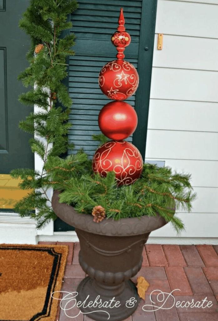 DIY Christmas decor ornaments