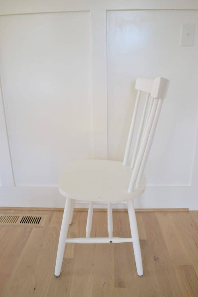 a white chair from amazon