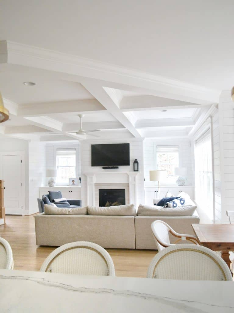 Chrissy Marie blog angled coffered ceiling