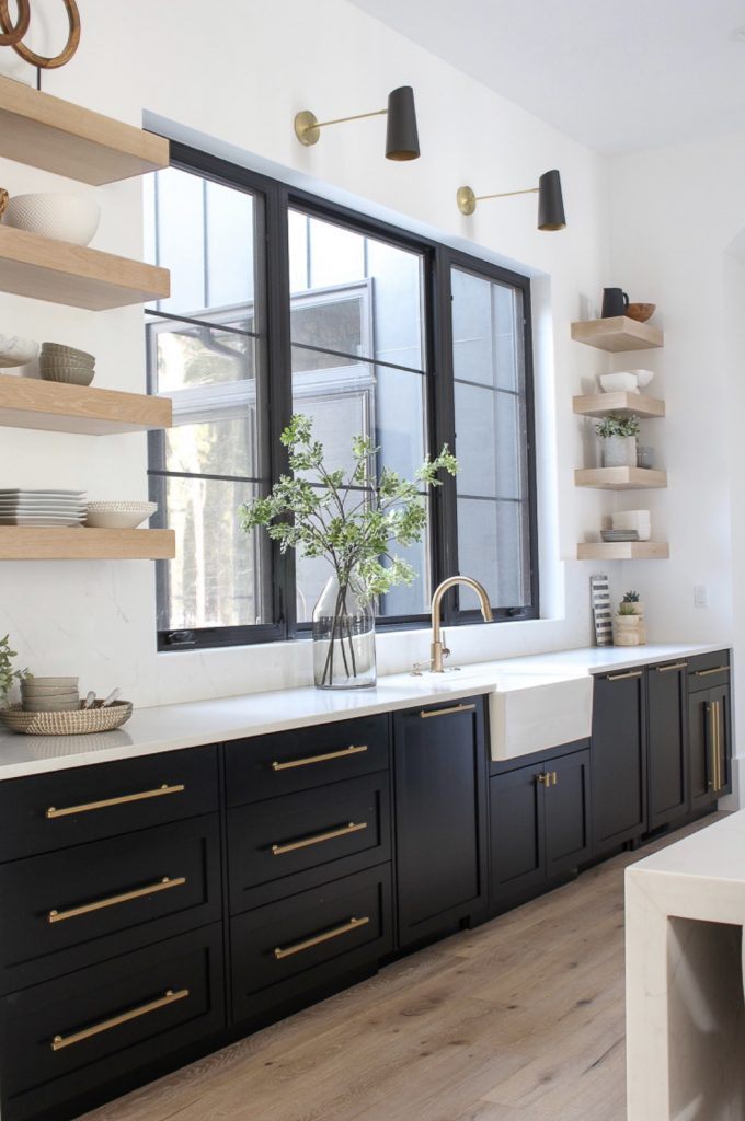 black cabinetry kitchen trends for 2020