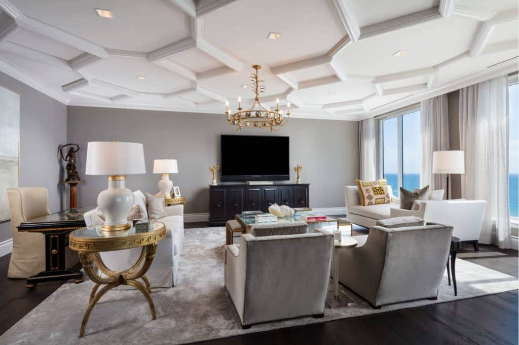 23 Stunning Coffered Ceiling Ideas Chrissy Marie Blog