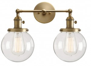 amazon home finds brass sconce