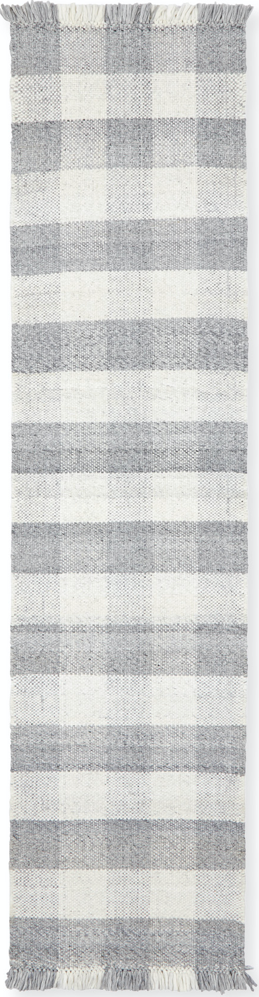 gingham kitchen runner rug