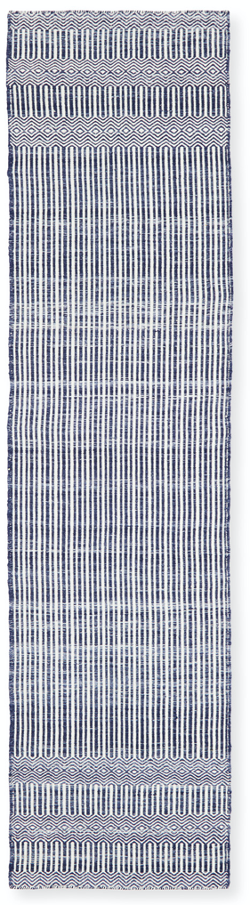 blue outdoor kitchen rug