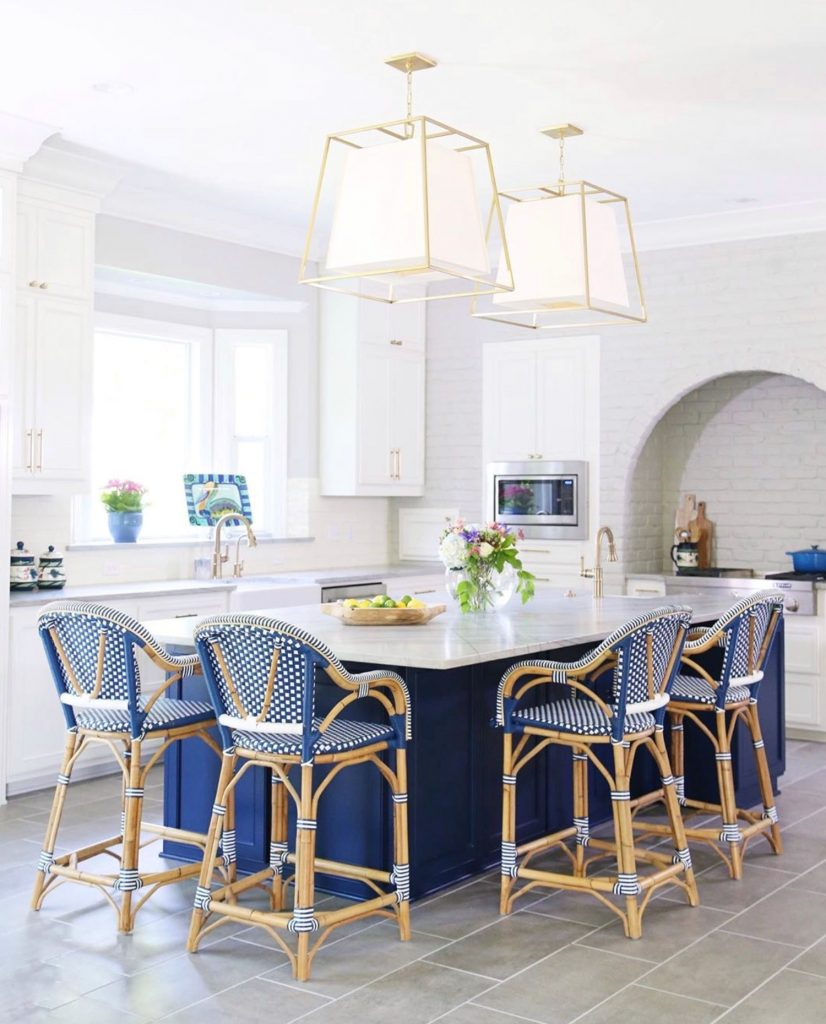 4 bistro chairs in a kitchen
