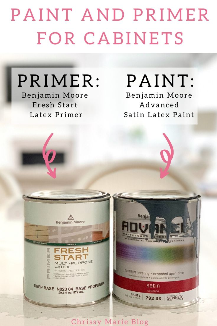 pinterest image of paint that says best paint for painting bathroom cabinets