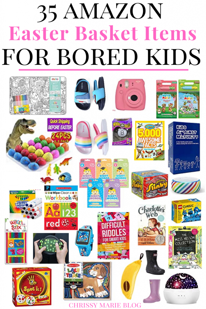 Easter Basket stuffers for bored kids