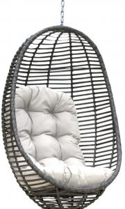 an outdoor swing chair from Wayfair