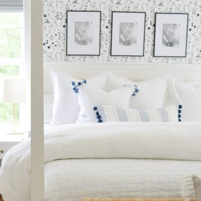 Stylist's Secrets For A Cozy Bed With Fluffy Bedding