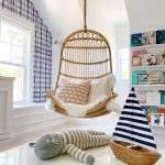 hanging chair in a playroom