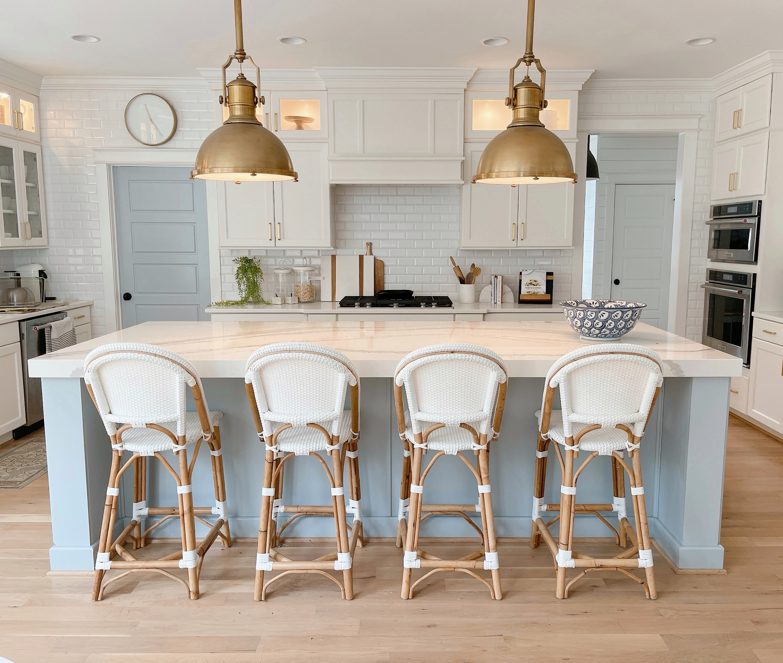 15 Blue Kitchen Islands Their Paint Colors Chrissy Marie Blog